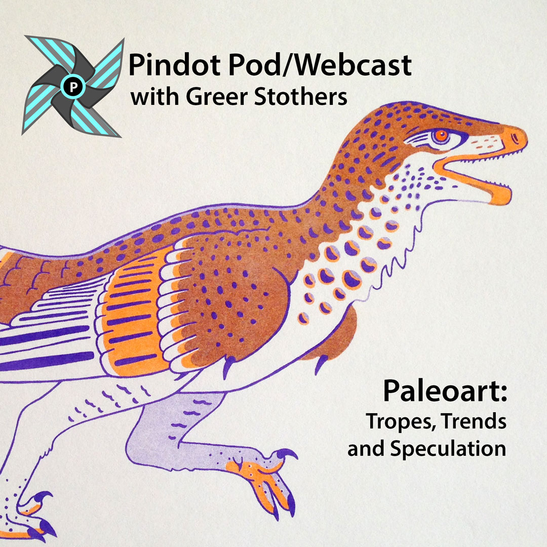 Greer Stothers: Paleoart – Tropes, Trends, and Speculation